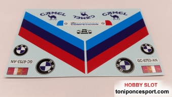 Calca Ford Transit asistencia BMW M3 J.M. Ponce 1989 1/24
