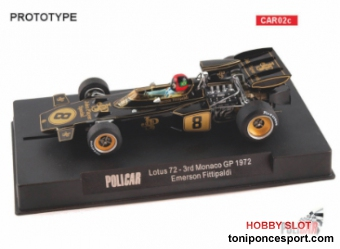 Lotus 72 JPS Monaco GP 1972 #8 - Emerson Fittipaldi -