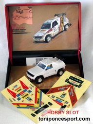 Mitsubishi Montero (Pajero) Blanco Power Slot 1/32