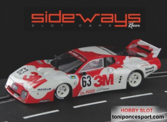 Ferrari 512BB 3M Team 24H. LeMans