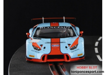 LB Huracan GT3 Gulf Racing Edition + Parche Gulf