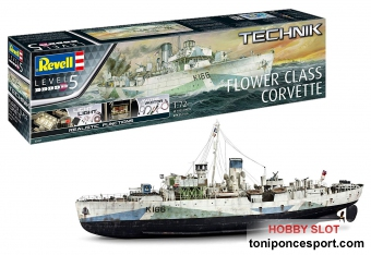 Flower Class Corvette Technik Series