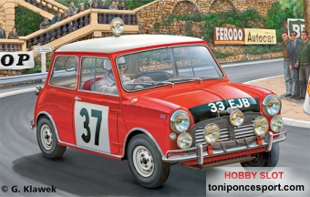 MINI COOPER RALLY DE MONTECARLO'64