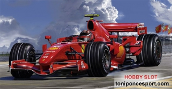 MODEL SET FERRARI F2007 + Pegamento + Pintura + Pincel