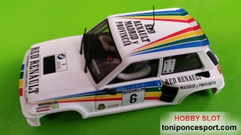 Carroceria Renault 5 Turbo 2 - Carlos Sainz - J. Lacalle 1983