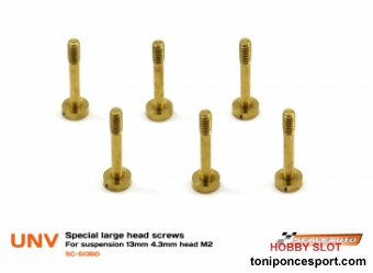 Torniller�a para Suspension 13mm con Cabeza de 4,3mm. M2