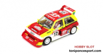 MG Metro 6R4 R-Version AW 33 Export Tour de Corse 1986