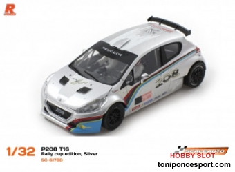 P208 T16 Cup Edition Silver/White R-Version AW