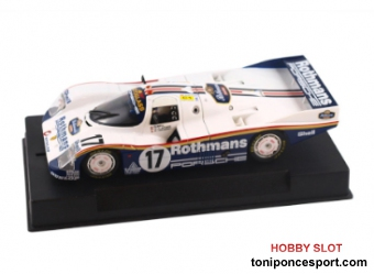 Porsche 962C-85 1st n.17 Le Mans 1987 LeMans Winner Collection
