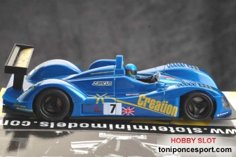 Zytek Team Creation Le Mans 2005 Nº7 azul