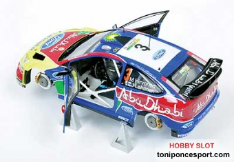 Ford Focus RS WRC Kit 1/24 2010 Hirvonen-Lehtinen