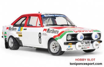 Ford Escort RS1800 (Marlboro/Castro) - #8 A.Vatanen/A.Aho - International Swedish Rally 1978 Limited Edition 1499 psc.
