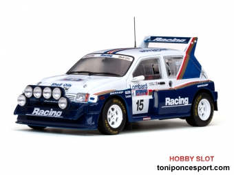 MG Metro 6R4 (ROTHMANS) - #15 J.McRae/I.Grindrod - RAC Rally 1986 Limited Edition 2999 pcs.