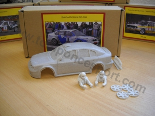 Skoda Octavia Kit-Car 1/24 Kit - Resina