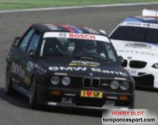 BMW M3 E30 Race Againts E92 M3 Test Bruno Spengler