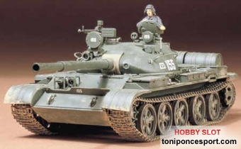 Tanque Russian T-62A Tank