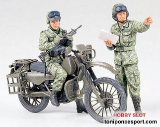 JGSDF Motorcycle Recon. Set
