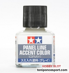 Panel Line Accent Color Gris Oscuro