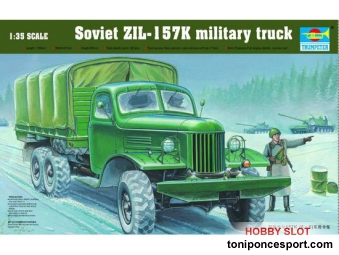 Camion - Soviet ZIL-157K military truck