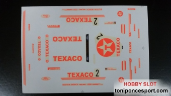 "Calca Ford Sierra Cosworth ""Texaco"""