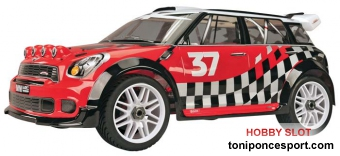 Mini WRC Rally Game 1/8 Nitro-Powered 4WD Off-Road Rally Car
