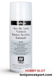 Barniz Spray Satinado Acrilico 400 ml.