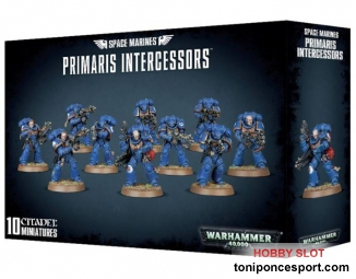 Warhammer Space Marines Primaris Intercessors